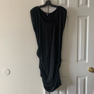Long black dress perfect for any outing!